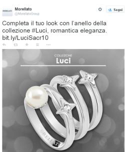 Morellato su Twitter   Completa il tuo look con l'anello della collezione  Luci  romantica eleganza. http   t.co aiWKIdNfDL http   t.co AqG8q1aT6s